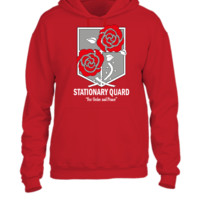 Stationary Quard - Attack On Titan - UNISEX HOODIE