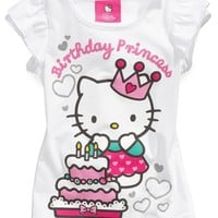 Hello Kitty Kids Shirts, Little Girls Birthday Tees - Kids Toddler Girls (2T-5T) - Macy's