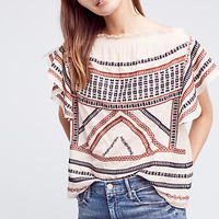 Embroidered Gretel Top