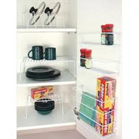 6 Piece Kitchen Cabinet Spice Organizer Racks Set