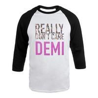 Demi Lovato Official Store | Really Don't Care Raglan Shirt