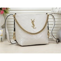YSL Fashion Women's Pure Corrugated Single Shoulder Bag