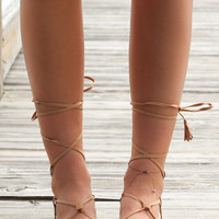 Showbiz Camel Gladiator Sandal