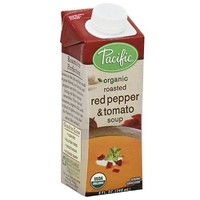 Pacific Organic Roasted Red Pepper & Tomato Soup, 8 fl oz (Pack of 12) - Walmart.com