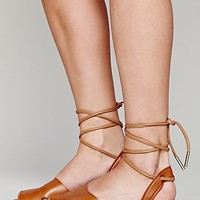 Dolce Vita Womens Chloe Wrap Sandal - Brown,