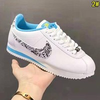 Nike Classic Cortez Trending Women Men Leather Sport Running Shoes Sneakers 2#