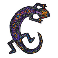Tribal Lizard Patch on Sale for $3.99 at HippieShop.com