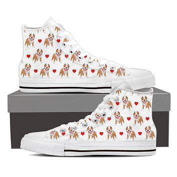 Pit Bull Love Shoes