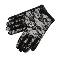 Halloween Party Thin Section Sunscreen Car Women Lace Gloves  Ritual Performances Gloves Drop Shipping GLV-0027