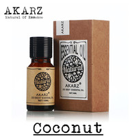 AKARZ Famous brand  pure natural aromatherapy coconut oil Beauty care Hair care Protect teeth coconut essential oil