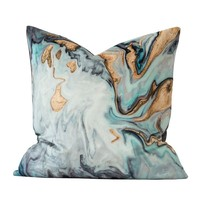 """Another Period Velvet Pillow Cover 18"""" x 18"""""""