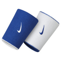 Nike Dri-FIT Home/Away Double-Wide Wristbands (Blue)