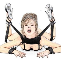 Sexy Hot Erotic Langerie BDSM Handcuffs Neck Pillow Ankle Cuff Kit Lingerie Porn Sexy Costumes Lenceria Mujer