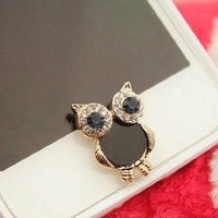 eBADA Cute Vintage Owl Charm phone Home Return Keys Buttons Sticker For iPhone 4S iPhone 5 iPod Touch iPad Repair Fix Replace Replacement