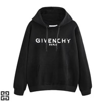 GIVENCHY Classic Popular Men Women Casual Print Hooded Sweater Top Sweatshirt