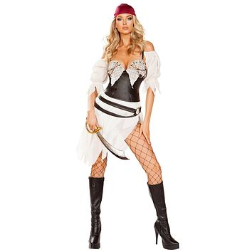 Sexy Pirate Wench Tattered Costume