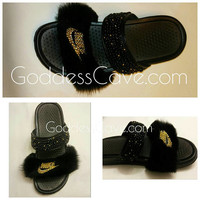Fur Nike Duo Slide