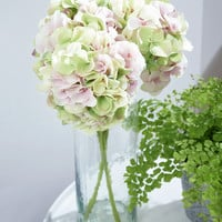 NEW Three Faux Hydrangea Stems