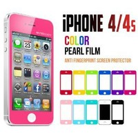 iPhone 4S Screen Protector, Caseology [HD Clarity] Apple iPhone 4/4S Screen Protector [2-Pack] [Hot Pink] [3-Month Warranty] Color Film [Crystal Clear] Front Screen Protection iPhone 4/4S Screen Protector (for Apple iPhone 4/4S Verizon, AT&T Sprint, T-mobi