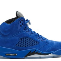 Air Jordan 5 Retro Blue Suede Game Royal