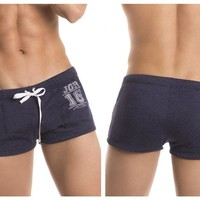 0299 Figther Shorts Color Blue