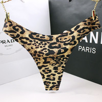 Sexy Panties Leopard Sexy G String Thin Underwear Women Female Seamless Floral Rose Thongs Tanga Lingerie
