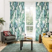 Drapes with Palm Cove
