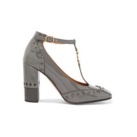 Chloe Perry Patent Pumps