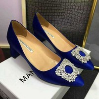 MB Manolo Blahnik Women Heels Shoes