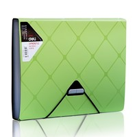 Business Style Expanding Wallet 6 Slots A4 Size File Folder Bill Document Holder Trendy Office and School Supplies