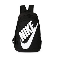 shosouvenir NIKE Fashion Letters Sports backpack (7 color) Sapphire Black(white letters)