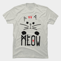 Meow Meow Meow On T Shirt By Bonvoyage Design By Humans