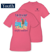 "*Closeout* Youth Simply Southern ""Salty Beach"" Tee"