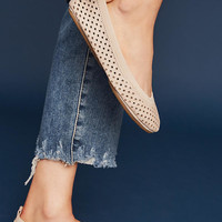 Yosi Samra Perforated Ballet Flats