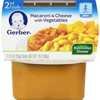 Gerber 2nd Foods, Macaroni and Cheese, 8-Ounce (Pack of 8)