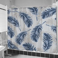 Blue Feathers Shower Curtain | uneekee - you. by design.