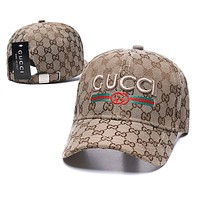 GG men's and women's embroidery letters baseball cap