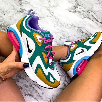 Nike Air Max 200 Contrast Poly line Print Shoes Sports Air Sneakers Shoes
