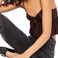 Topshop Know Front Stripe Camisole | Nordstrom