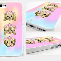 case,cover fits iPhone models>Tie Dye,monkey, Emoji,emojis,bright,smiley,flowers