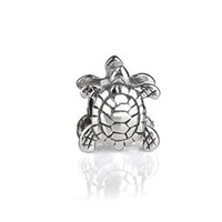 Bling Jewelry 925 Sterling Silver Sea Turtle Nautical Animal Bead Charm Fits Pandora