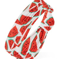 Watermelon Print Headwrap | Forever 21 - 1000223405
