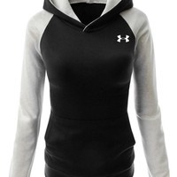 Under Armour Women Fashion Hooded Top Pullover Sweater Sweatshirt One-nice™