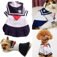 Pet Dog Clothes For Dogs Costumes Dogs shirt Cat Dress Skirt Dog Clothes Summer Short Sleeve Pets Chihuahua Yorkie Supply30