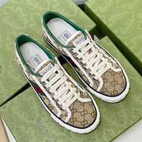 Dior GG Tennis 1977 Men's and Women's Sneakers Shoes