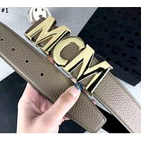 MCM 2019 new letter buckle personality wild belt #1