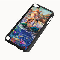 Paintings Ariel The Little Mermaid IPod 4|5 Cases