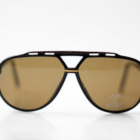 New Unisex Aviator Sunglasses / French Shooter Specs Sunnies / France 70s