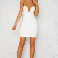 Anything For You Dress White