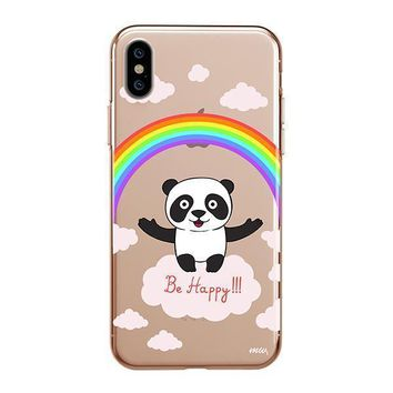 Be Happy - iPhone Clear Case